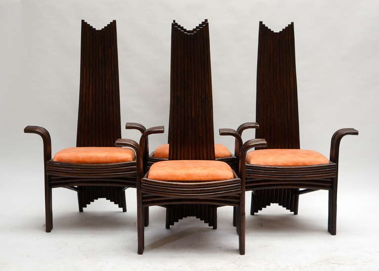 Set of Four Bentwood High Chairs In Good Condition For Sale In Antwerp, BE