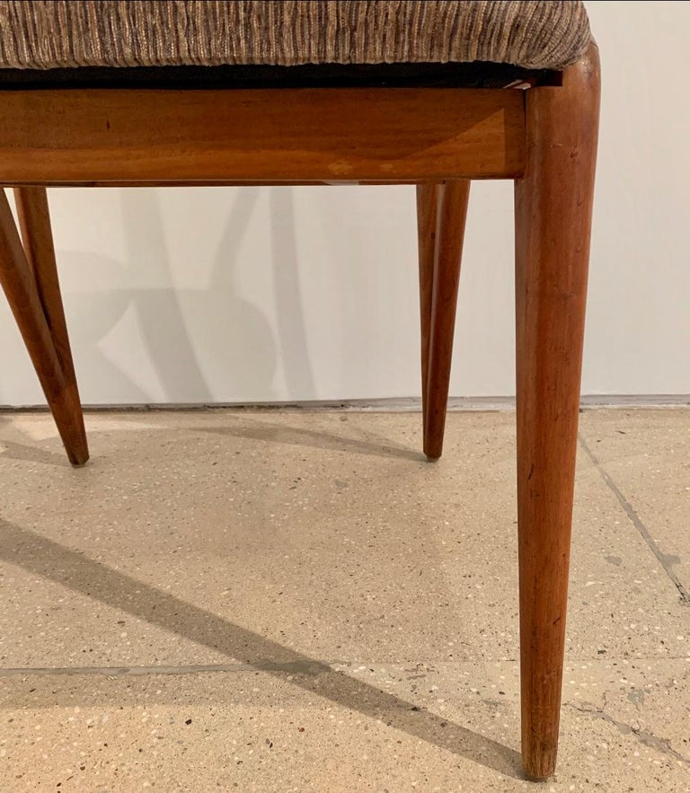 Set of Four Bertha Schaefer Dining Chairs In Good Condition For Sale In New York, NY