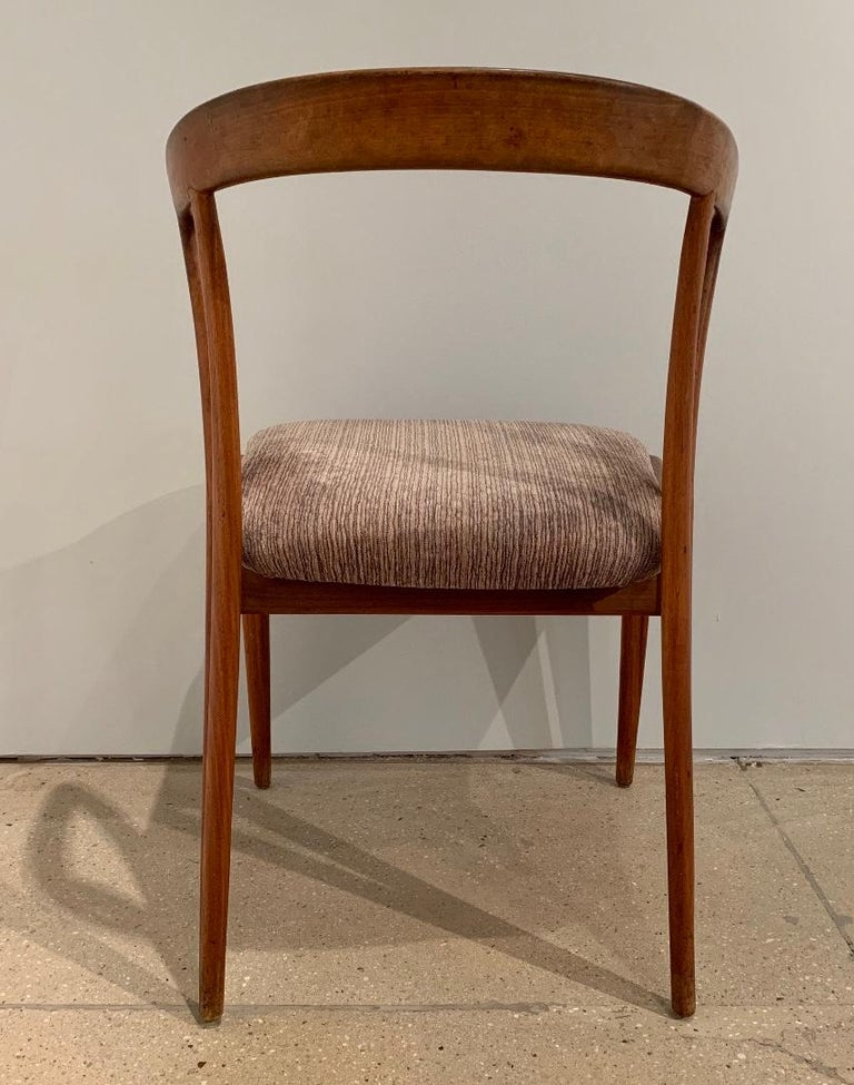 Mid-20th Century Set of Four Bertha Schaefer Dining Chairs For Sale