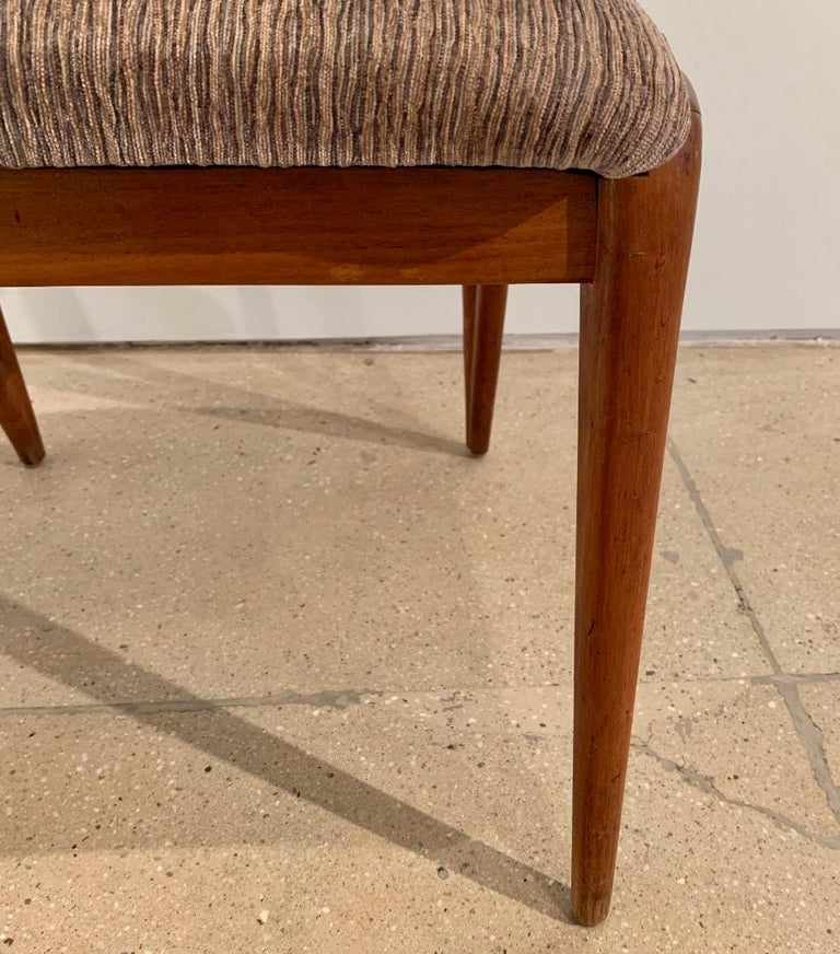 Set of Four Bertha Schaefer Dining Chairs For Sale 2