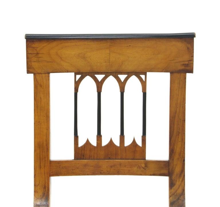 Set of Four Biedermeier Side Chairs, circa 1810-1820 For Sale 2
