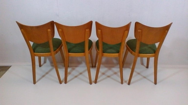 Mid-20th Century Set of Four Chairs, 1960s For Sale