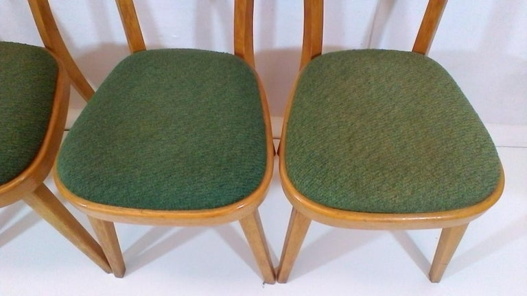 Set of Four Chairs, 1960s For Sale 1
