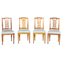 Set of Four Chairs, Bavaria / Germany, circa 1785