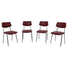Set of Four Chairs, Czechoslovakia, 1970s