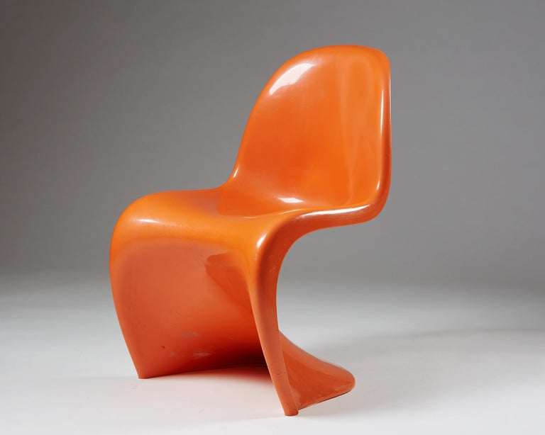 Pair of chairs designed by Verner Panton for Herman Miller, USA, 1960s. ABS plastic. Sold as a set.  Measures: H 83cm/ 32 1/2