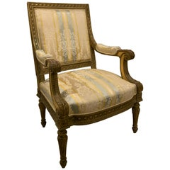 Set of Four Chairs or Pair of Chairs, French Louis XV Salon Chairs