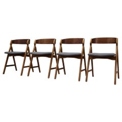 Set of Four Chairs Teak, Danish Design, 1970s