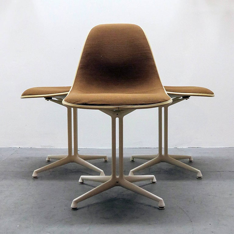 American Set of Four Charles and Ray Eames La Fonda Chairs For Sale