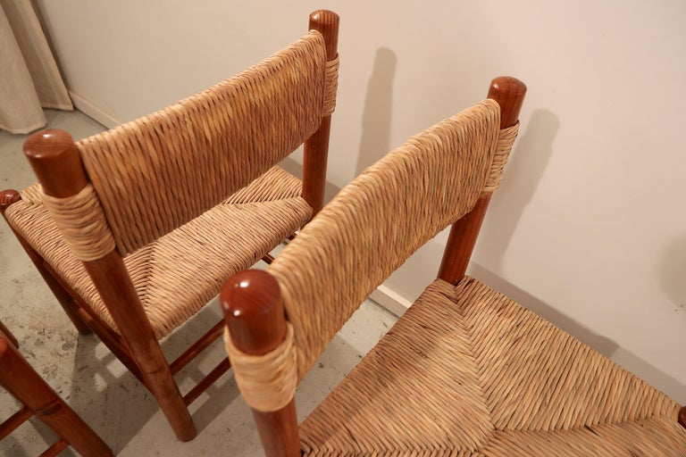 Mid-Century Modern Set of Four Charlotte Perriand
