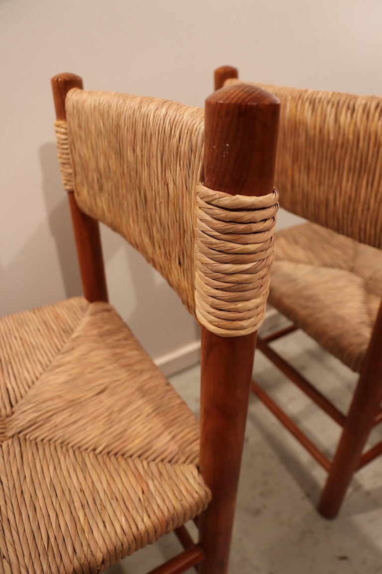 Mid-20th Century Set of Four Charlotte Perriand