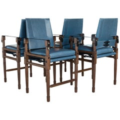 Set of Four Chatwin Counter Chairs, Handcrafted by Richard Wrightman Design