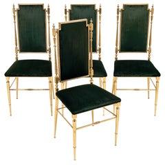 Set of Four Chiavari Chairs
