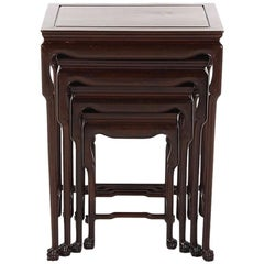 Set of Four Chinese Nesting Tables