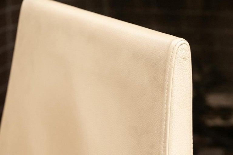 Set of Four Contemporary Costantini Pietro Italian Made Designer Dining Armchair For Sale 7