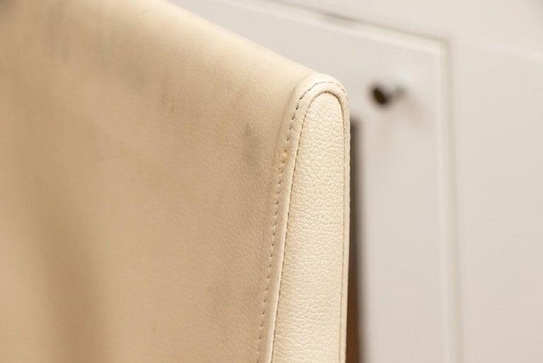 Set of Four Contemporary Costantini Pietro Italian Made Designer Dining Armchair For Sale 8