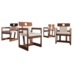 "Set of Four ""Cuiabá"" Dining Chairs by Sergio Rodrigues"