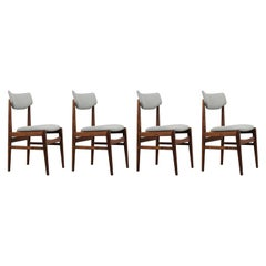 Set of Danish Mid Century Modern Rosewood Dining Chairs