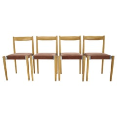 Set of Four Design Dining Chairs by Miroslav Navratil, 1970s