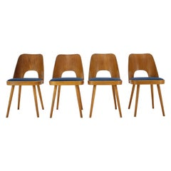 Set of Four Design Dining Chairs by Oswald Haerdtl, 1960s