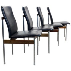 Set of Four Diner Chairs by Fristho