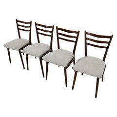 Set of Four Dining Chair by Interier Praha, 1970s