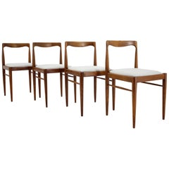 Set of Four Dining Chairs, 1960s