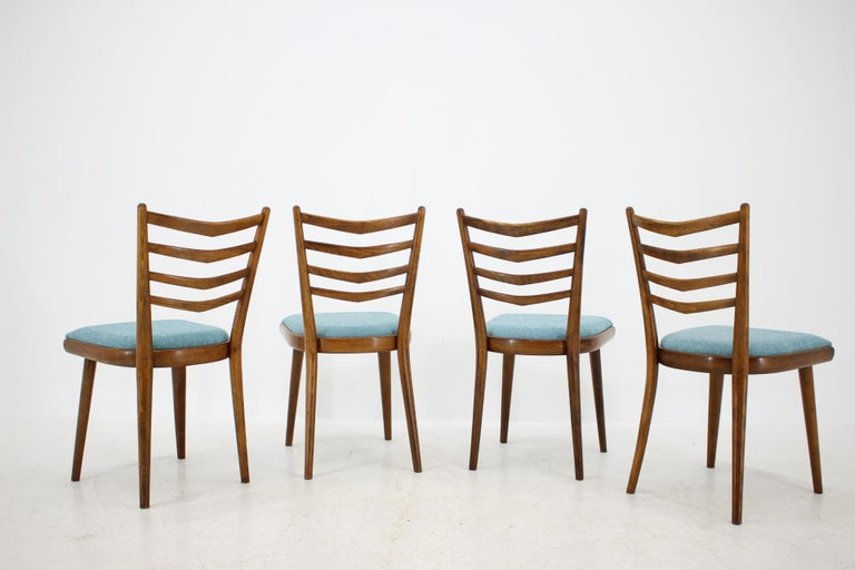 Mid-Century Modern Set of Four Dining Chairs, 1960s For Sale
