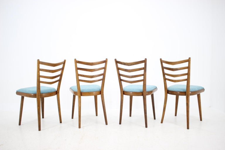 Set of Four Dining Chairs, 1960s In Good Condition For Sale In Praha, CZ