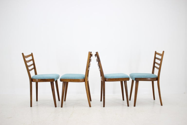 Mid-20th Century Set of Four Dining Chairs, 1960s For Sale