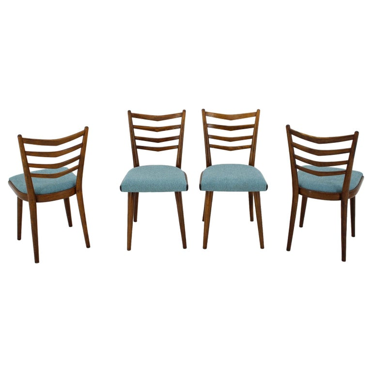 Set of Four Dining Chairs, 1960s For Sale