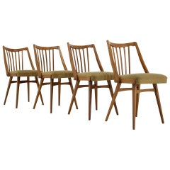Set of Four Dining Chairs, 1965