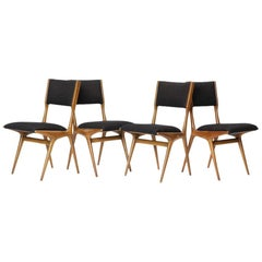 Set of Four Dining Chairs by Carlo di Carli
