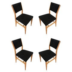 Set of Four Dining Chairs by Gio Ponti for Singer & Sons