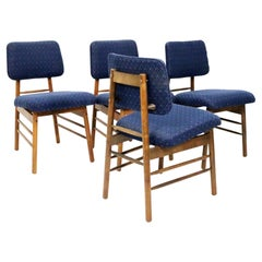 Set of Four Dining Chairs by Greta Magnusson Grossman for Glenn of California