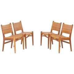 Set of Four Dining Chairs by Hans J. Wegner.