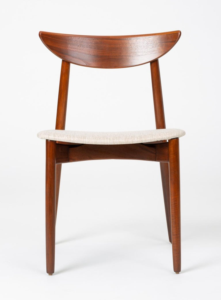 Set of Four Dining Chairs by Harry Østergaard for Randers Møbelfabrik For Sale 3