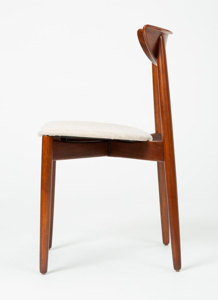Set of Four Dining Chairs by Harry Østergaard for Randers Møbelfabrik For Sale 5