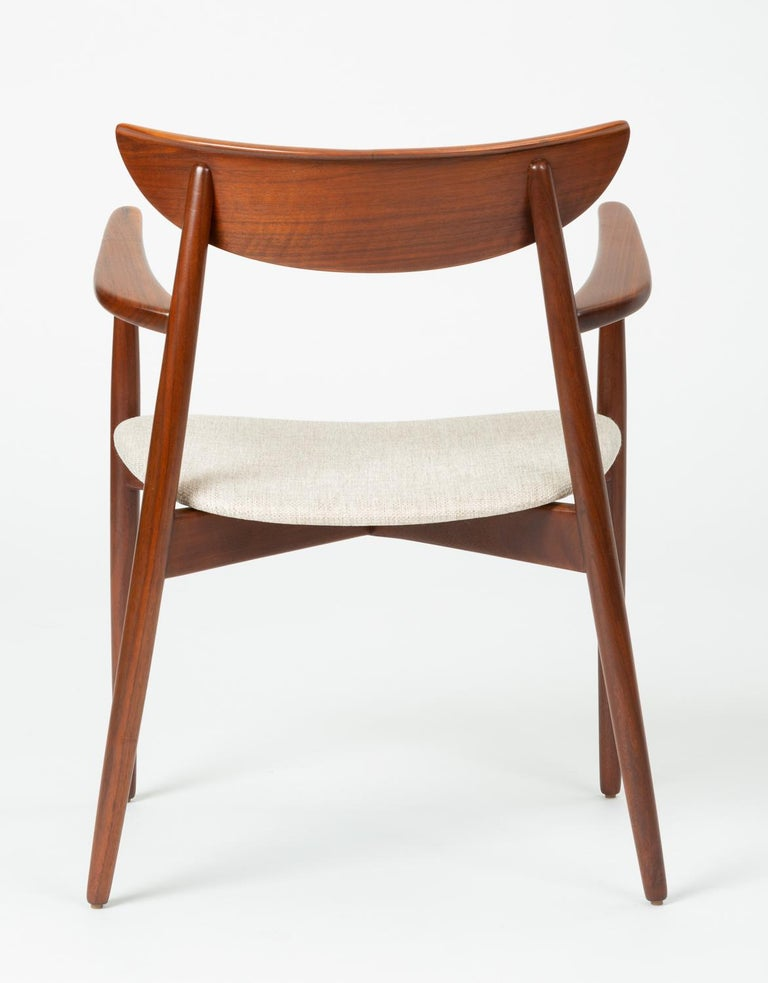 20th Century Set of Four Dining Chairs by Harry Østergaard for Randers Møbelfabrik For Sale