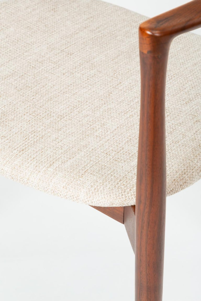 Set of Four Dining Chairs by Harry Østergaard for Randers Møbelfabrik For Sale 2