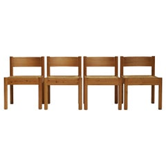 Set of Four Dining Chairs by Rainer Daumiller for Hirtshals Sawmill, Denmark