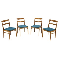 Set of Four Dining Chairs, Czechoslovakia, 1970