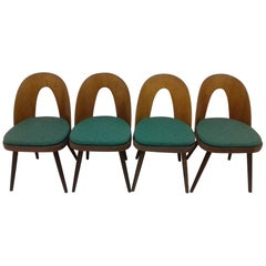 Set of Four Dining Chairs Designed by Antonín Šuman, 1960s