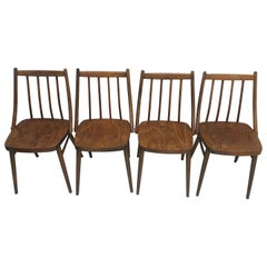 Set of Four Dining Chairs Designed by Antonín Šuman, 1966s