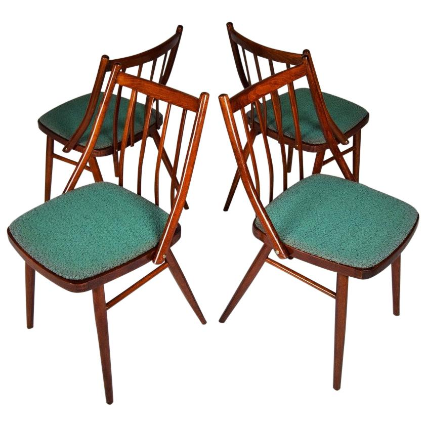 Set of Four Dining Chairs Designed by Antonín Šuman, 1966s