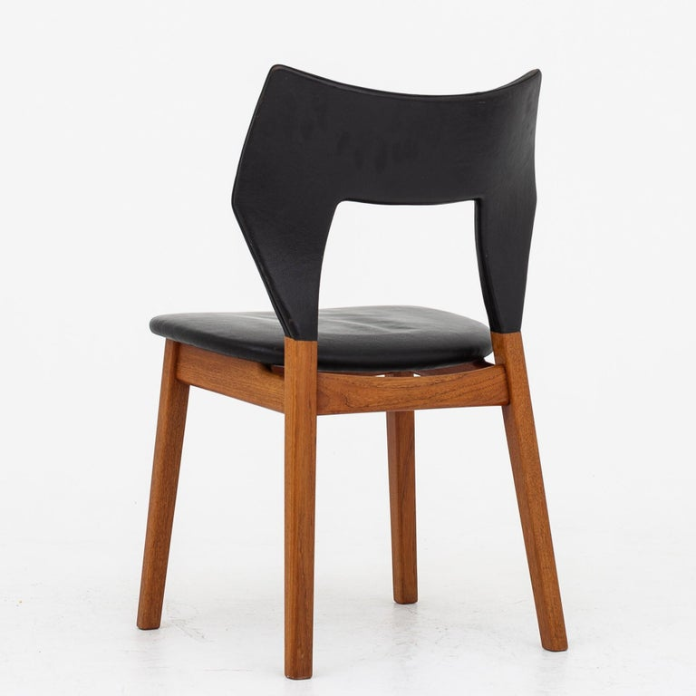 Set of Four Dining Chairs in Teak by Tove & Edvard Kindt Larsen In Good Condition For Sale In Copenhagen, DK