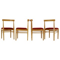 Set of Four Dining Chairs, Thon, 1970s