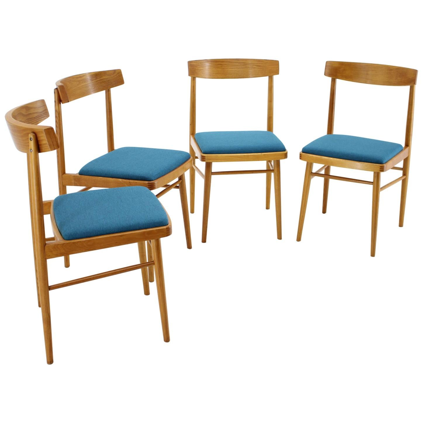 Set of Four Dining Chairs/ Thon 'Thonet', 1970s