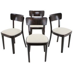 Set of Four Dining Chairs/Thonet, 1950s