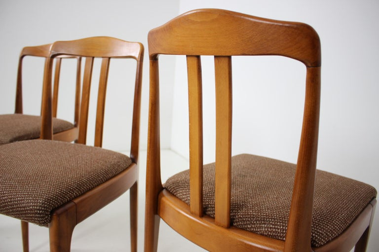 Set of Four Dining Chairs, 1960s For Sale 5